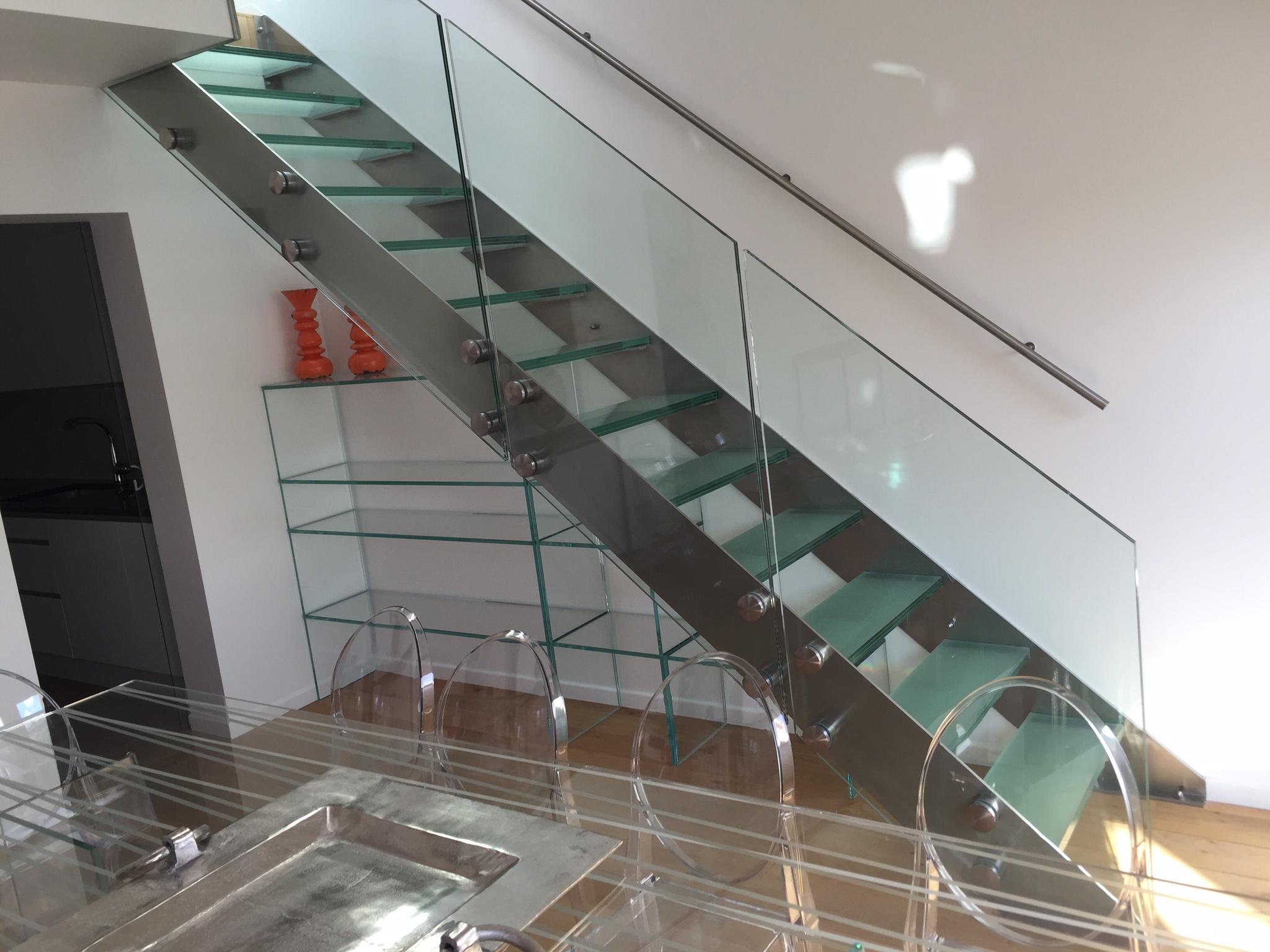 Escalier en inox